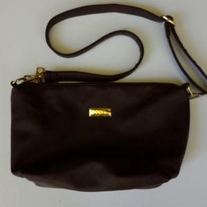 Bcbg leather hobo purse brown great condition